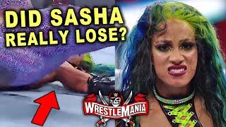 Real Reason Why Sasha Banks Lost At WrestleMania 37 After Botched Pinfall To Bianca Belair