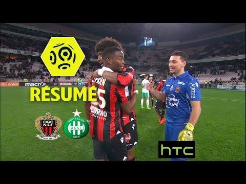 OGC Nice - AS Saint-Etienne (1-0)  - Résumé - (OGCN - ASSE) / 2016-17