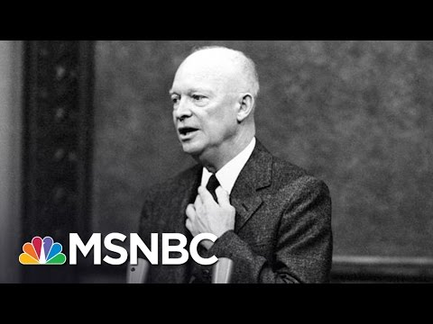 Reflecting On Dwight Eisenhower's Cabinet In 2016 | Morning Joe | MSNBC