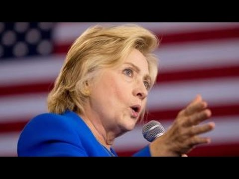 Hillary Clinton continues prep work on debate day