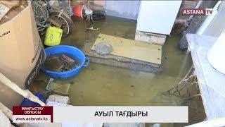 Маңғыстау облысындағы Атамекен ауылы жаңбыр суынан жапа шегіп отыр