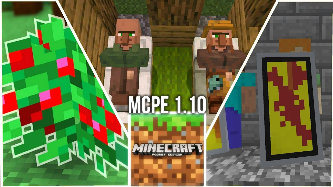 minecraft pe 1.10 0.3 ios