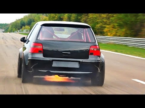 1150HP VW Golf 4 R32 Turbo Acceleration Sound By Don Octane Kevin Buczior