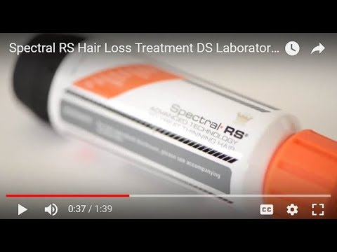 Spectral.RS – Advanced Technology to Treat Thinning Hair by DS Laboratories