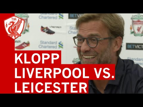 Liverpool vs. Leicester City: Jurgen Klopp's pre-match press conference