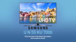 SAMSUNG UN55KU7000 ( KU7000 ) 4K UHD TV // FULL SPECS REVIEW #SamsungTV