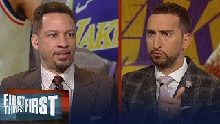 Download Chris Broussard doubts the Lakers would trade LeBron James to Sixers   NBA   FIRST THINGS FIRST Mp3 and Videos