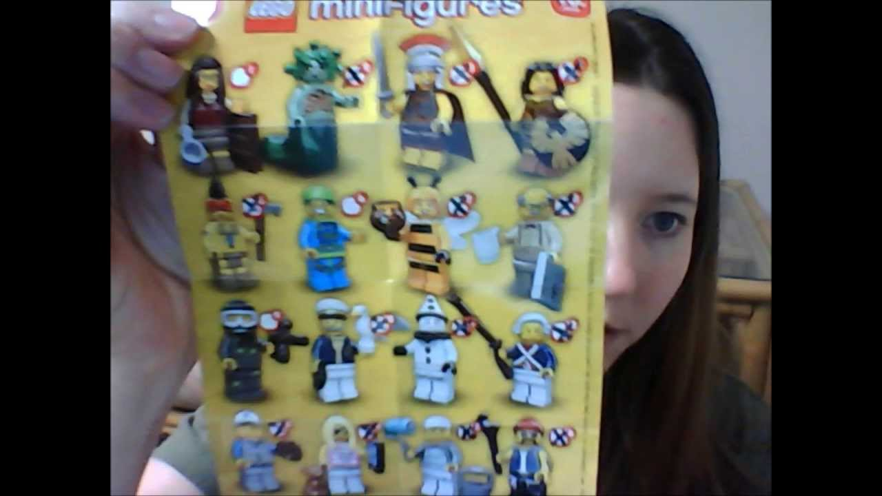 Lego series 10 minifigures bump codes for bumble bee grandpa and others