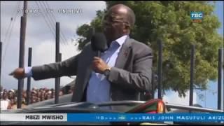 BREAKING: Msafara wa JPM Wasimamishwa na Wananchi