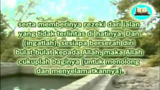 Surat At-Talaq Ayat 2-3 (Ayat Seribu Dinar)
