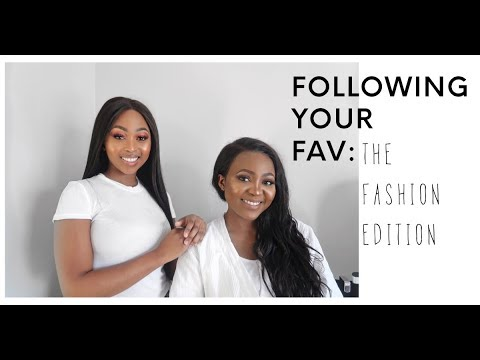 Following Your Fav: The Fashion Edition | Thandi Gama