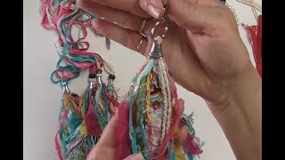 How to Make Fabric and Fiber Tassels Tutorial