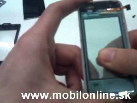Výmena: LCD Displej, Dotykove Sklo Nokia 5530 XpressMusic