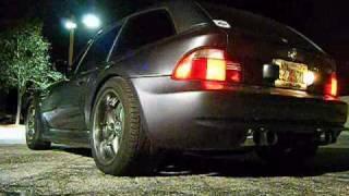 2002 z3 m coupe s54 exhaust clip