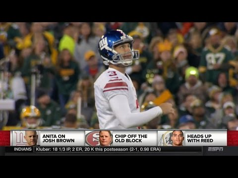 """Giants Josh Brown In Journal: """"I Have Abused My Wife"""" - SportsNation"""