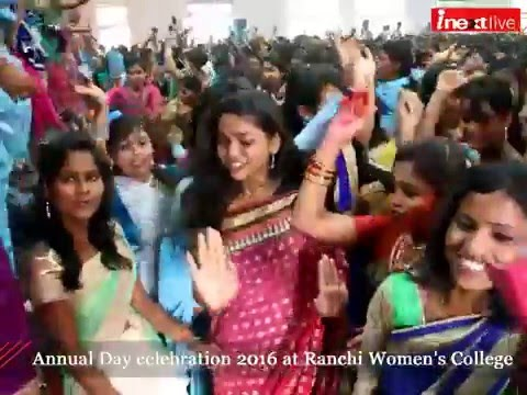 Annual Day celebration 2016 at Ranchi Women's College