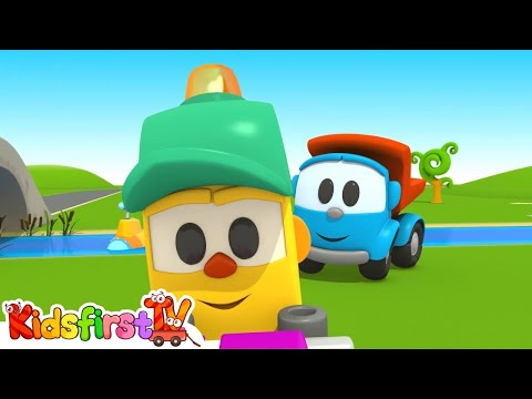 Leo the truck Full episodes 9. Baby cartoon.