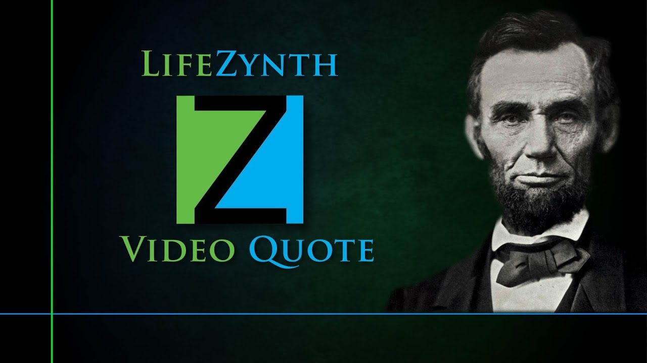 Abe Lincoln Perseverance Youtube