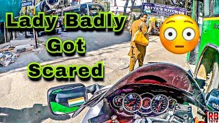 OoopSSSS AUNTY GOT SCARED | DAILY OBSERVATION | HAYABUSA