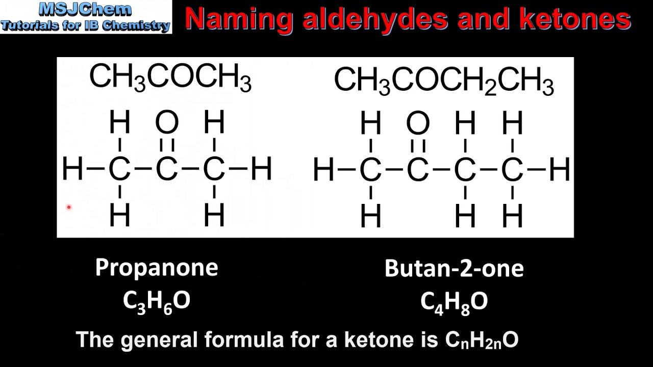Topic 10 Organic chemistry - MSJChem - Tutorial videos for IB Chemistry