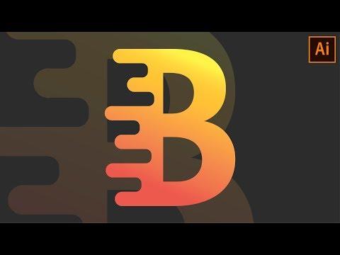Текстовый Логотип в Иллюстраторе | Урок #15