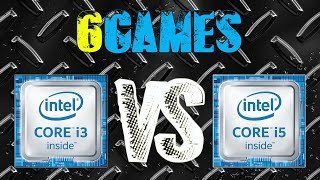 i5 6500 vs i3 6100   gtx 970 oc   2560 x 1440   in 6 games