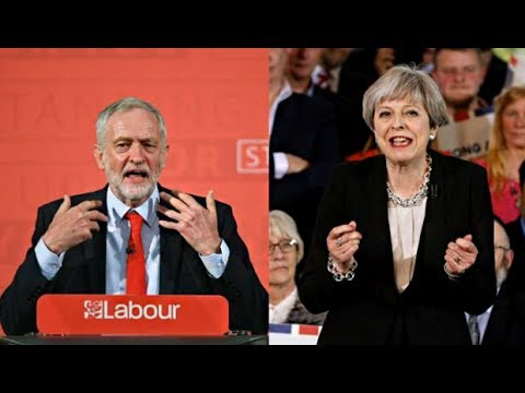 UK Election Polls Tighten to Three Points Between May and Corbyn