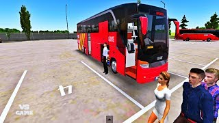 Setro Topclass S Original Cockpit Added | Bus Simulator Ultimate Android Gameplay screenshot 4