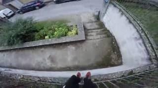 Training with rain - [Parkour POV] - (60FPS) Orléans