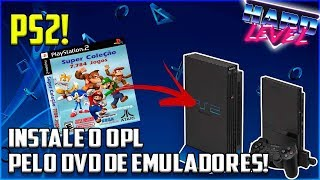 PS2 - COMO INSTALAR O OPL SEM GRAVAR EM DVD COM O EMULADOR DE NES DA SUPER COLLECTION!