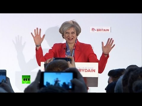 Theresa May's Conservative Party spring conference speech (FULL)