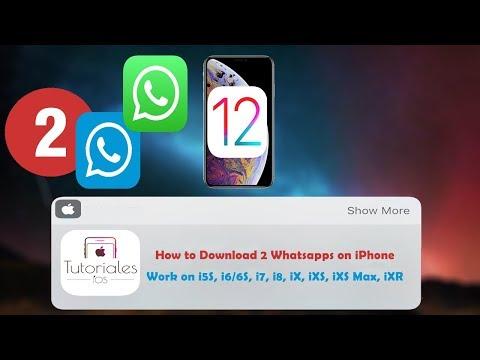 cómo-descargar-dos-whatsapps-en-ios-12-[septiembre-2018]-(iphone-xr,-xs,-xs-max,-entre-otros)
