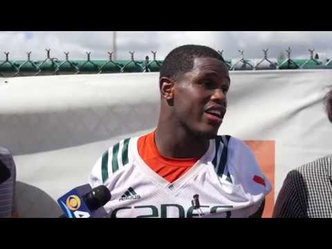 Jaquan Johnson | Post Practice Interview | 10.17.2107