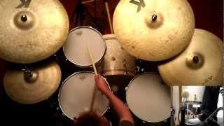 Happy Birthday Bill Stewart! Drum Licks and Crosstalk Groove - Multicam