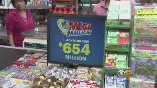 Lottery Dreams Go Big Ahead Of $654 Million Mega Millions Drawing