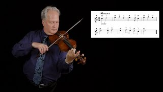 Georg Muffat: the rules of violin bowing, David Wilson and Voices of Music