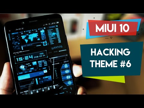 Best Hacking Theme For Redmi Note 5 Pro #6