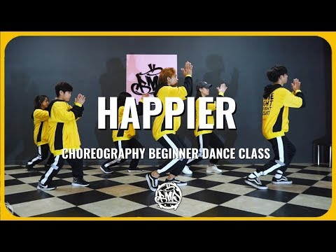 HAPPIER (Marshmello ft. Bastille) / KhaKen Choreography / Urban Dance Class Beginner