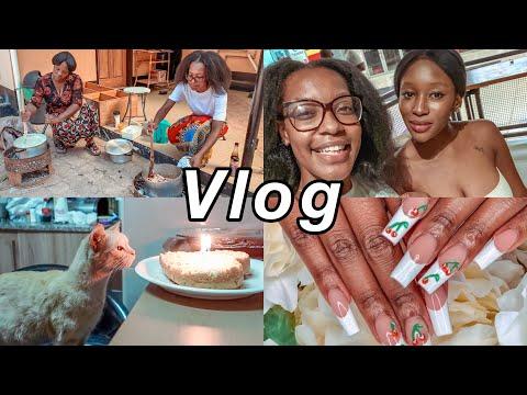 ZAMBIA VLOG: Cooking Pa Mbabula, Girls Night Out, Evie's Birthday etc. | Nyemba