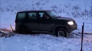 УАЗ-Патриот. Покатушка. Застрял в снегу(Это видео создано с помощью видеоредактора YouTube (http://www.youtube.com/editor), 2015-03-28T09:07:30.000Z)