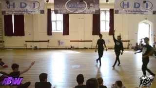 HDI Dance Camp : Quick Crew - Blurred Lines (Robin Thicke) ft. Ian Eastwood & Koharu Sugawara