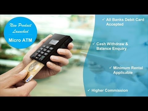 Micro ATM - Cash Withdraw, Balance Enquiry - iServeU