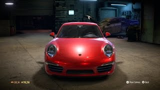 Need For Speed 2015 - Porsche Carrera S 991 2014 - Test Drive Gameplay (XboxONE HD) [1080p60FPS]