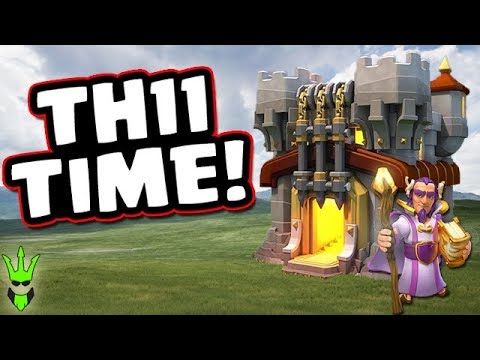 TH11 TIME! - New Town Hall 11 Discussion - Clash of Clans - Dragon Event Gameplay