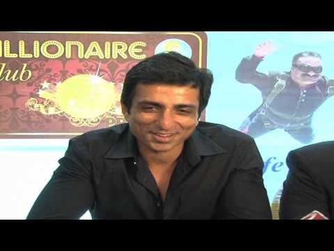 Sonu Sood Launches Country Club India's Billionaire Cards