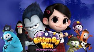 Download Spookiz The Movie OST | Monkey Majik - Bitten By you | スプーキッズ | Cartoon Songs