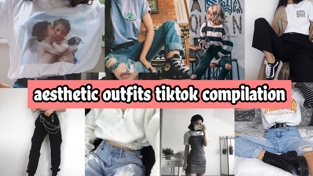 aesthetic outfit inspo tiktok compilation - YouTube