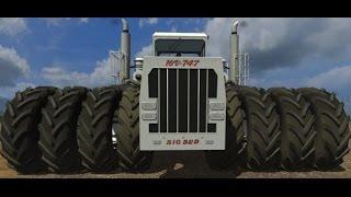 Самый большой трактор в мире(Самый большой трактор в мире Для обработки хлопковых плантаций нужны большие машины. И все еще в строю нахо..., 2014-08-19T15:44:07.000Z)