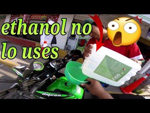 Dm 200 él ethanol daña tu moto