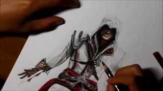 Time Lapse Drawing: Ezio from Assassin's Creed 2(Instagram: @bishology @jeffrey_mangaka17 Music Used: Ezio's Family OST., 2014-08-06T08:57:48.000Z)